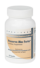 Thousands of customers from over 20 countries have purchased in excess of 7 million capsules of Preserve Mac Forte.