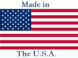 USA Flag Made in USA 250 x188