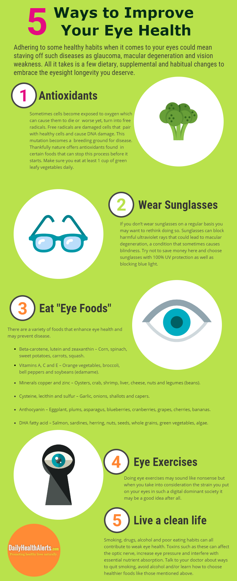 5 Ways to Improve Your Eye Health